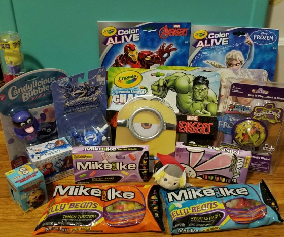Easter basket ideas with mike and ike benspark family adventures our easter basket ideas negle Choice Image