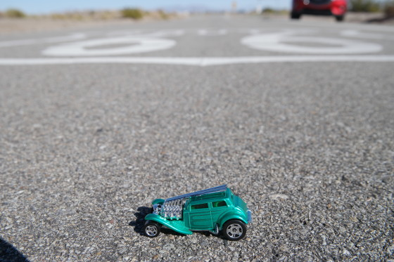 Toys along Route 66