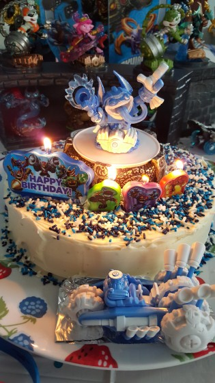 Skylanders Themed Cake Master Watch Party BenSpark Family