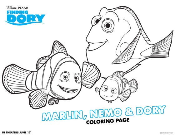 Color Up Some Finding Dory Fun BenSpark Family Adventures Travel