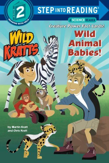 Wild Kratts Wild Animal Babies Step 2 Book