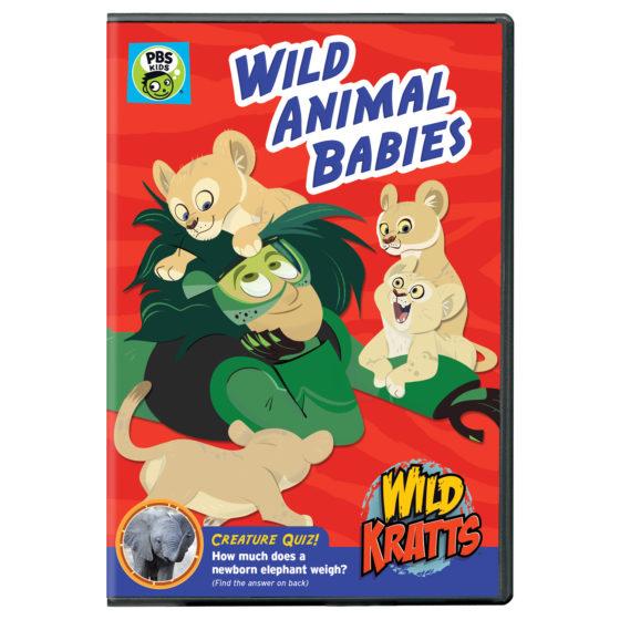 Wild Kratts Wild Animal Babies DVD