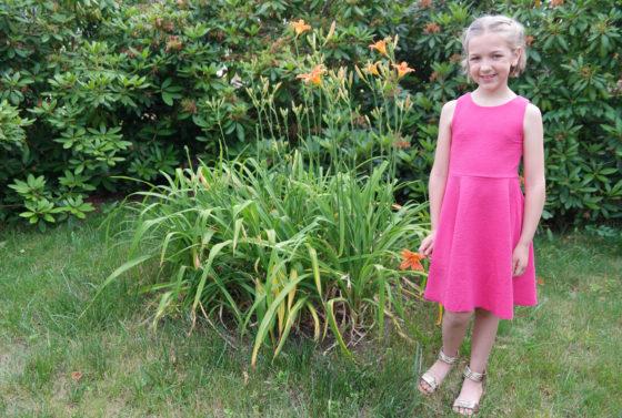 kidpik pink dress