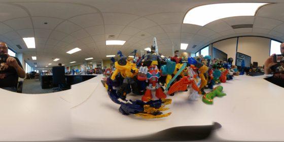 Panoramic Desk Image