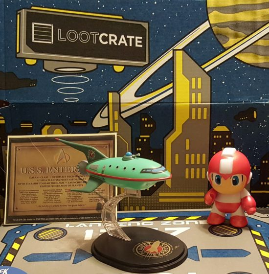 July 2015 Loot Crate Futuristic
