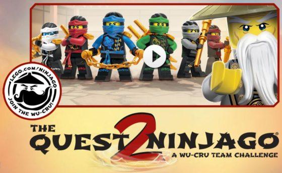 "The LEGO® NINJAGO™ Quest2NINJAGO™ WU-CRU Team Challenge at Toys ""R ..."