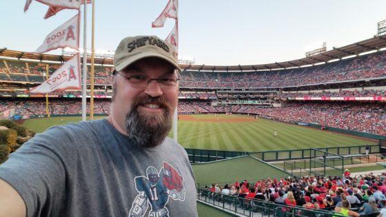 A Night at Angels Stadium