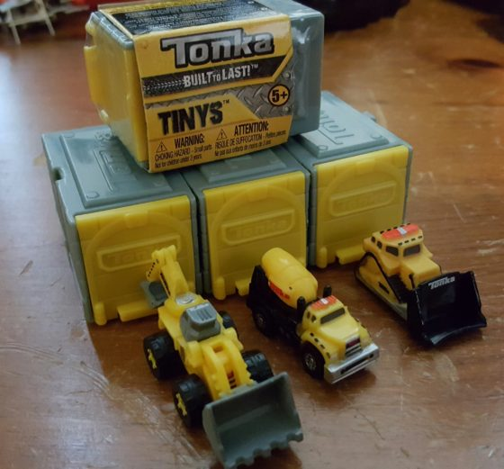 Unboxing Tonka Tinys Benspark Family Adventures