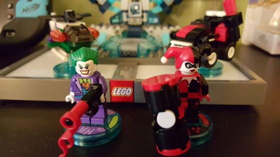unboxing review lego dimensions joker and harley quinn. Black Bedroom Furniture Sets. Home Design Ideas