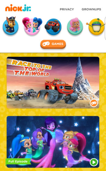 Nickelodeon s nick jr app launches on android and expands to google