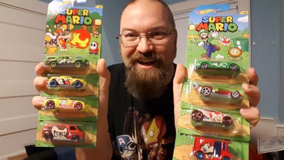 Super Mario Bros Hot Wheels
