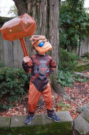 Skylanders Halloween Costume Wallop