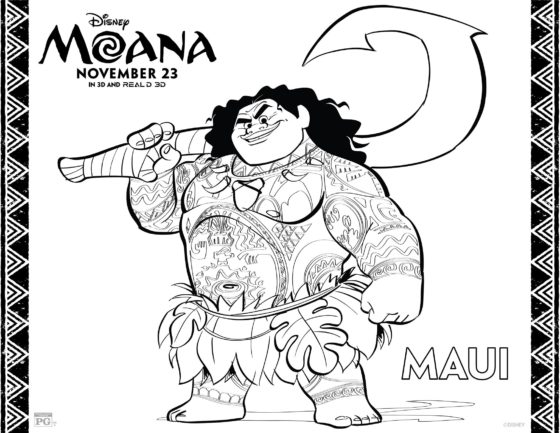 Disney Princess Coloring Pages App : Moana coloring pages benspark family adventures travel family