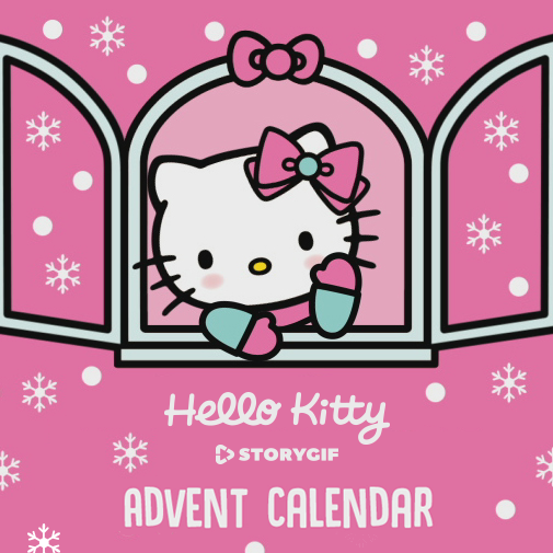 Hello Kitty Advent Calendar Intro Image