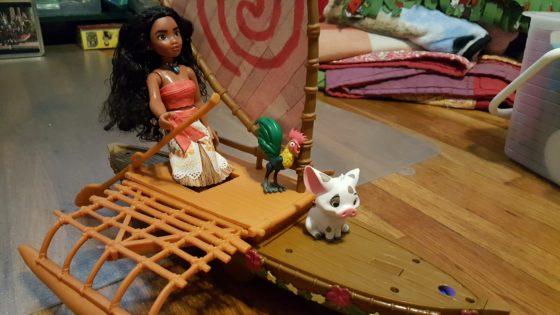 Moana Starlight Canoe and Friends