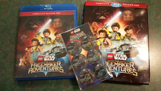LEGO Star Wars The Freemakers Blu-ray
