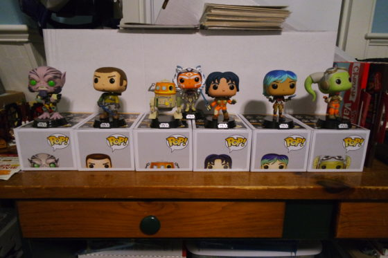 Star Wars Rebels Funko Pops