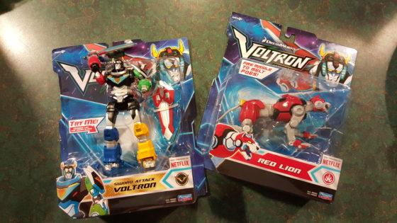 Voltron Toys