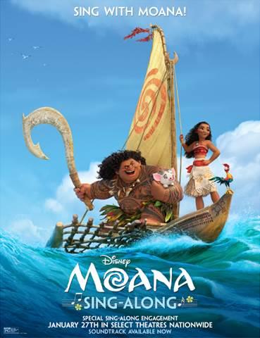 Moana Sing-A-Long