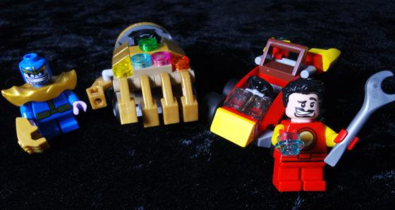 Marvel LEGO Mighty Minis Iron Man vs Thanos