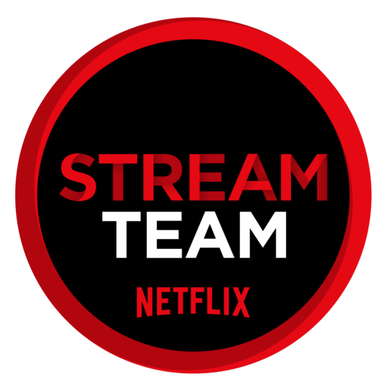 StreamTeam Red White Black Background