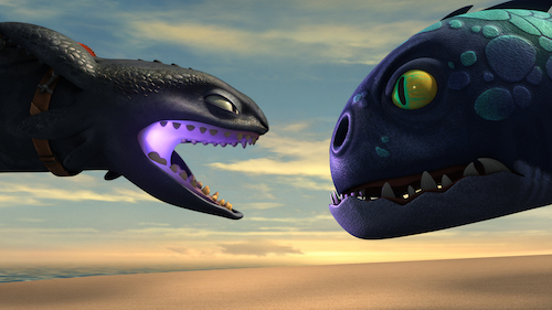 Dragons Race to the Edge Toothless