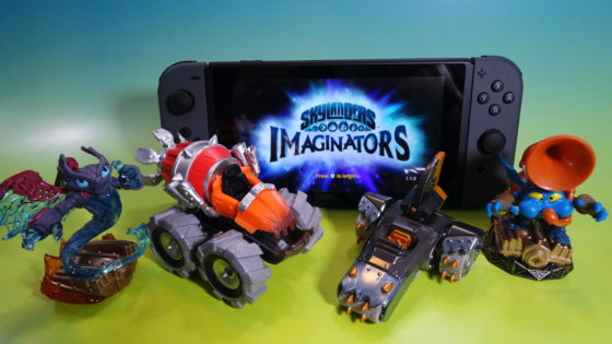 Skylanders SuperChargers Vehicles on Nintendo Switch