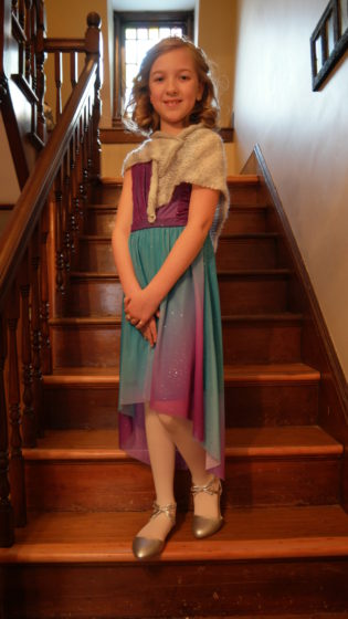 Eva for the Father Daughter Dance