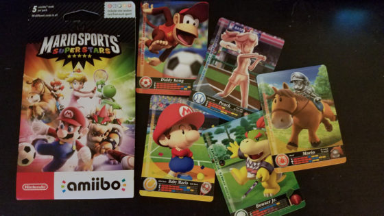 Mario Sports Superstars amiibo packs