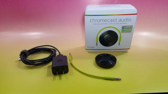 Google Chromecast Audio Contents