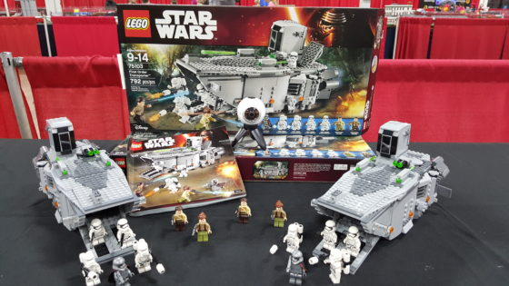 Double First Order Transport Builds