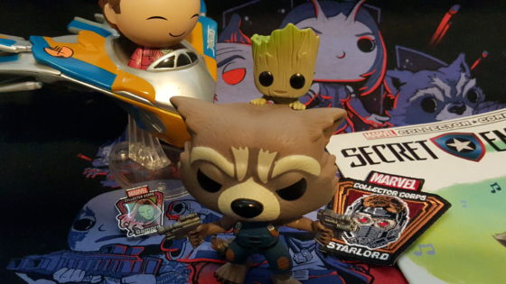 Guardians of the Galaxy Vol 2 Marvel Collector Corps Box
