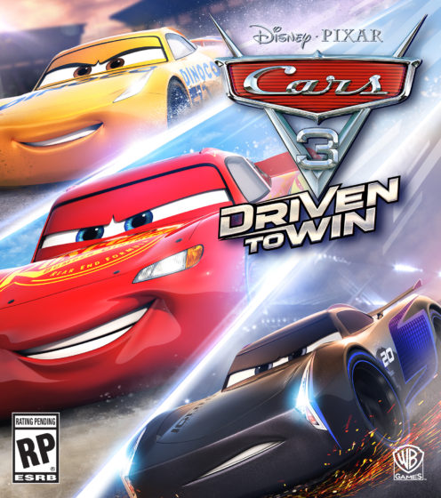 Cars 3 Video Game Artwork