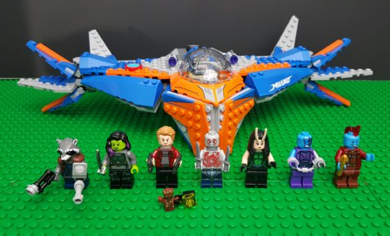 Guardians of the Galaxy Vol  2 is out and I'm Building LEGO