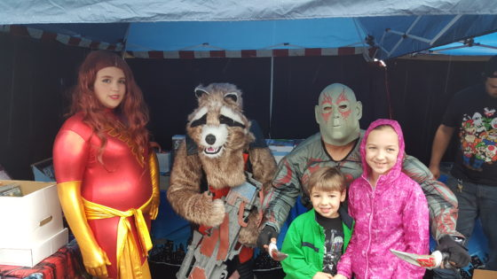 The Kids with the Guardians