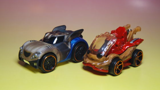 Guardians of the Galaxy Vol. 2 Rocket and Groot Hot Wheels Character cars