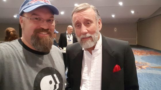 With Ray Stevens