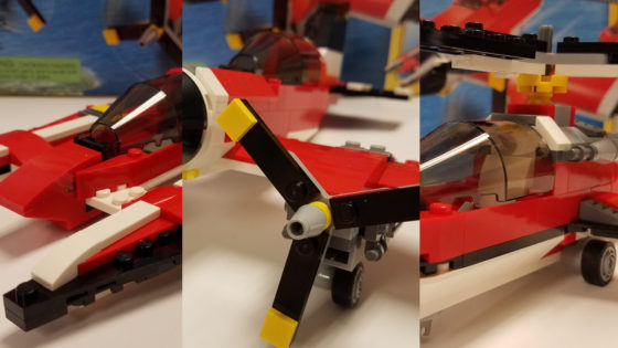Propeller Plane LEGO Creator Set