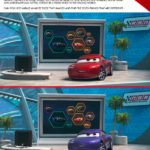 Cars 3 Spot the Difference