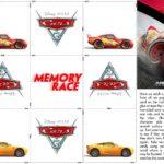 Cars 3 Memory Game
