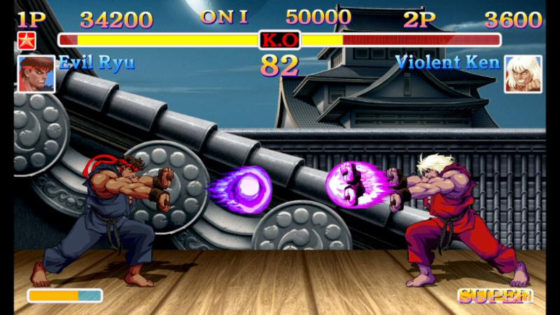 Set up your Quarters on the Rail and get next game with Ultra Street Fighter II: The Final Challengers on the Nintendo Switch
