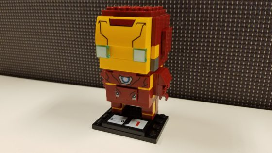 LEGO Iron Man Brick Headz