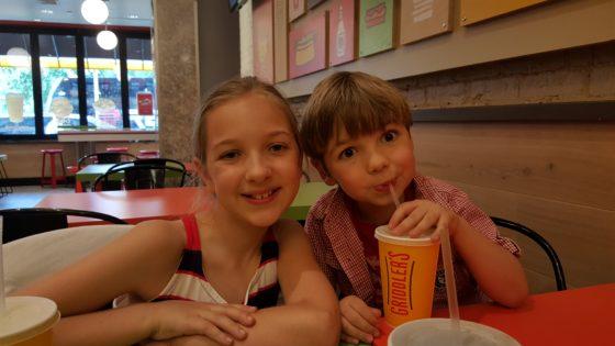 Kids at Griddlers
