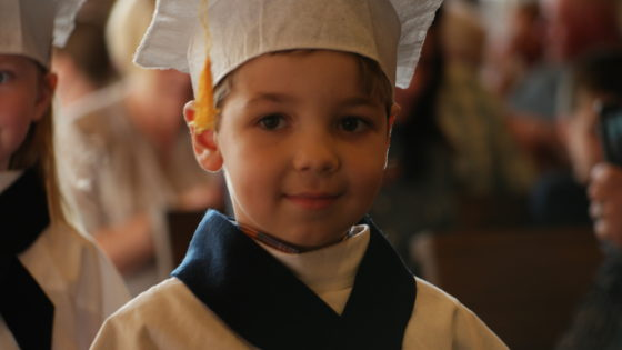 Andrew Graduates