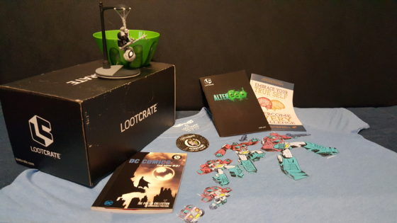 Loot Crate June 2017 Alter Ego