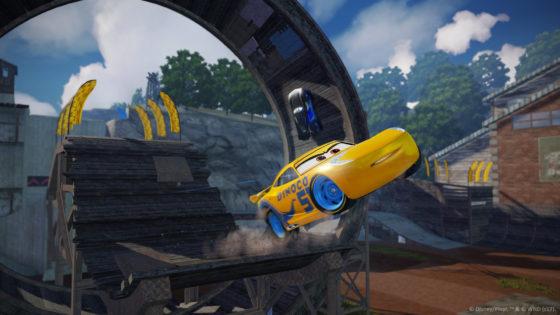 Cars 3 Cruz Ramirez and  Jackson Playground Loop