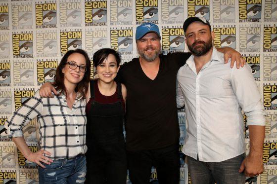 Lauren,Bex,Tyler, Joachim