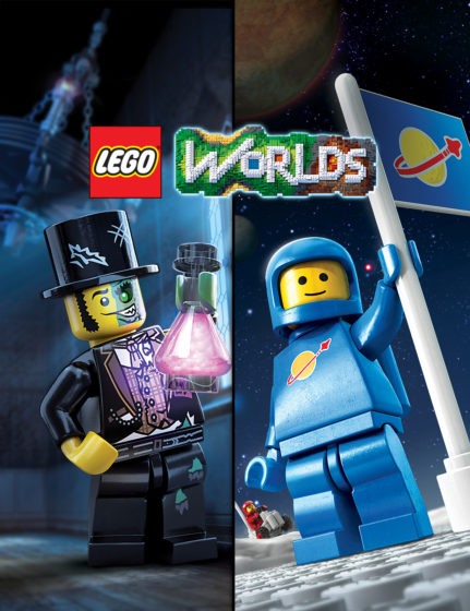 LEGO Worlds Monsters Classic Space DLC