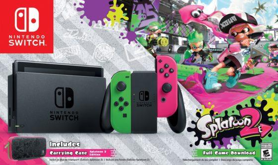 Nintendo SWITCH SPLAT2 BundleBox