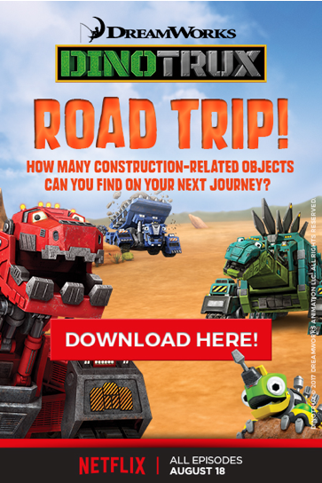 Dinotrux Road Trip